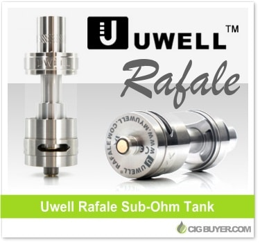 Uwell Rafale Tank Deal