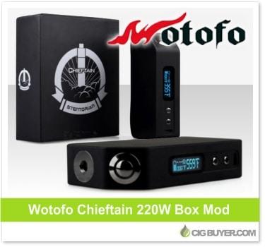 Wotofo Chieftain 220W Mod