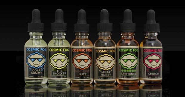 Cosmic Fog E-Juice Flavors