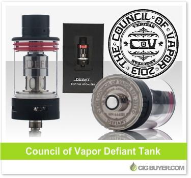 Coucil of Vapor Defiant Tank