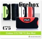 Crebox C75 75W Box Mod – $39.99