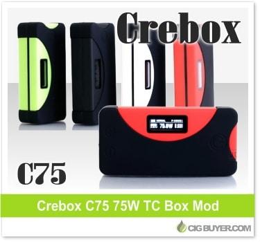 Crebox C75 Box Mod