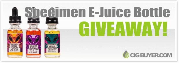 DFW Vapor Specimen E-Juice Giveaway