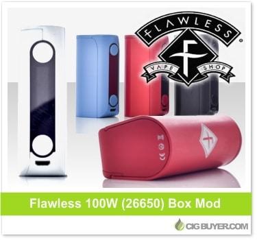 Flawless 100W (26650) Box Mod