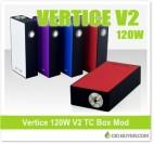 Vertice V2 120W TC Box Mod – $29.99