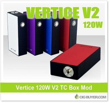 Vertice V2 120W Box Mod