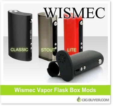 Wismec Vapor Flask Mods by Vape Forward