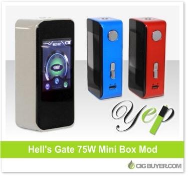 YEP Hell's Gate 75W Box Mod