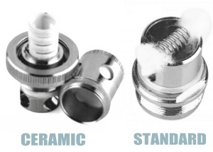 Ceramic vs. Standard Coil