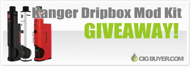 Kanger Dripbox Mod Kit Giveaway