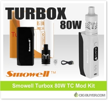 Smowell Turbox 80W Mod Kit