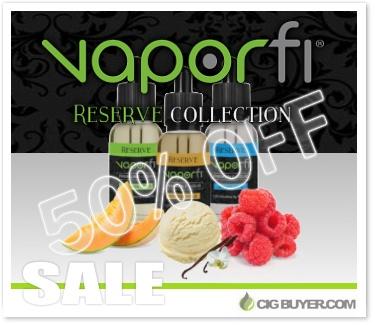 Vapor Fi Reserve E-Liquid Sale