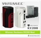 Wismec Reuleaux RX200 Mod – $35.99
