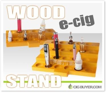 Wood E-Cig & Vape Display Stands