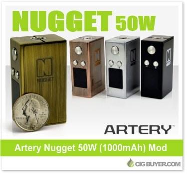 Artery Nugget 50W Box Mod
