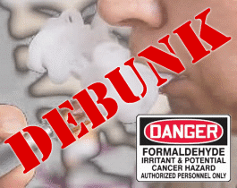 DEBUNK: Less Formaldehyde in E-Cigarettes