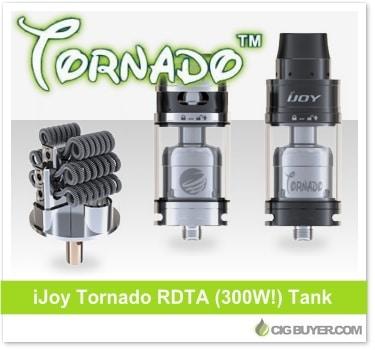 iJoy Tornado RDTA Tank