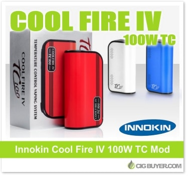 Innokin Coolfire IV TC 100W Box Mod