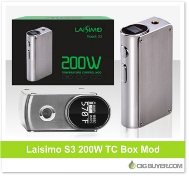 Laisimo S3 200W Box Mod