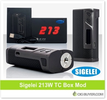 Sigelei 213W Box Mod