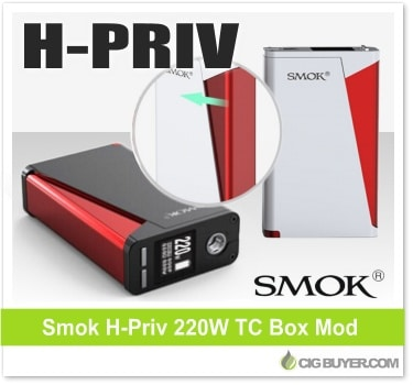 Smok H-Priv 220W Box Mod