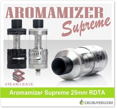 Steam Crave Aromamizer Supreme RDTA