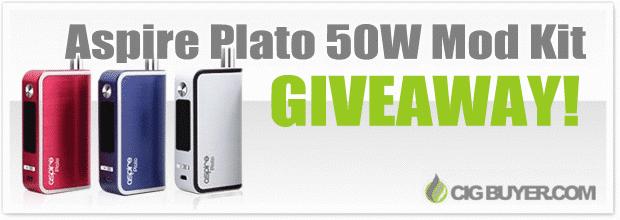 Aspire Plato 50W Mod Kit Giveaway