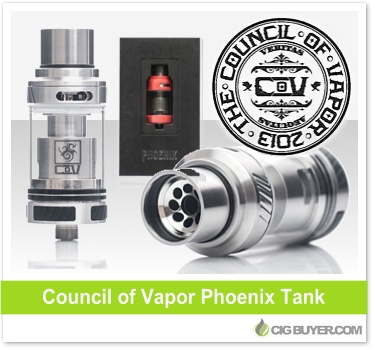 Council of Vapor Phoenix Tank