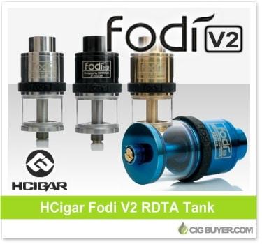 HCigar Fodi V2 RDTA Tank