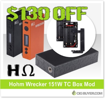 Hohm Wrecker 151W Box Mod
