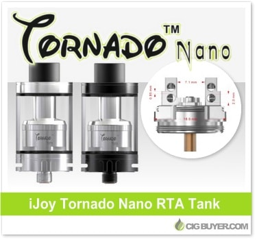 iJoy Tornado Nano RTA Tank
