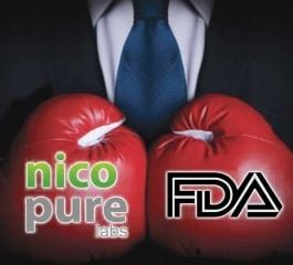 Nicopure Sues the FDA Over Regulations
