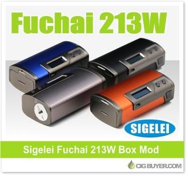 Sigelei Fuchai 213W Box Mod