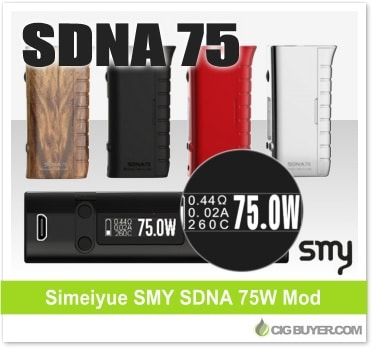 Simeiyue SMY SDNA 75 Box Mod