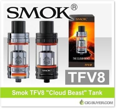 """Smok TFV8 """"Cloud Beast"""" Tank"""
