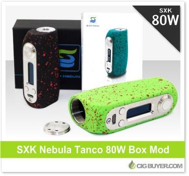 SXK Nebula Tanco 80W Box Mod