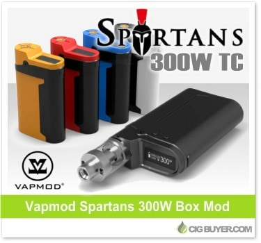 Vapmod Spartans 300W Box Mod
