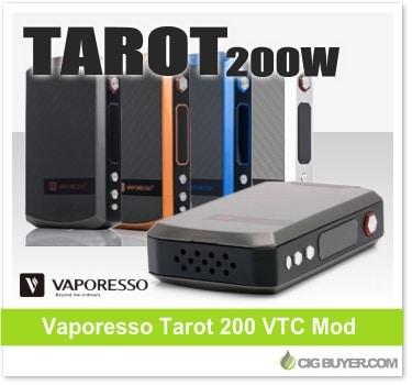 Vaporesso Tarot 200W VTC Box Mod