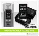 Wismec Reuleaux RX200S Mod – $35.89