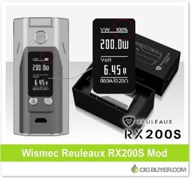 Wismec Reuleaux RX200S Box Mod