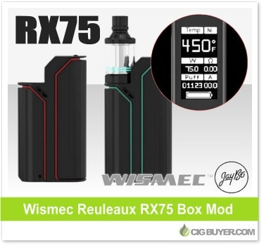 Wismec Reuleaux RX75 Box Mod