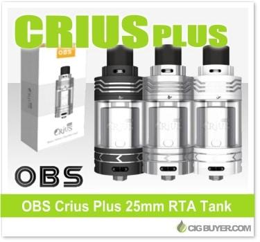 OBS Crius Plus RTA Tank