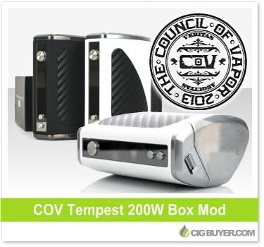 Council Of Vapor Tempest 200W Box Mod