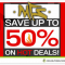 Up to 50% OFF Clearance at MFS