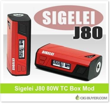 Sigelei J80 80W Box Mod