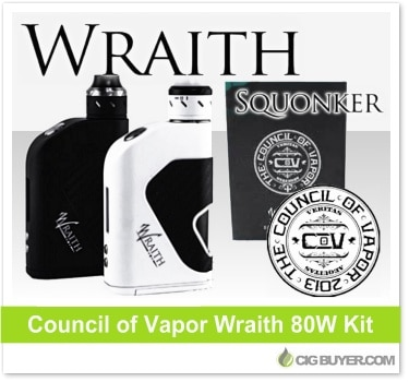 Council of Vapor Wraith Mod Squonker Kit