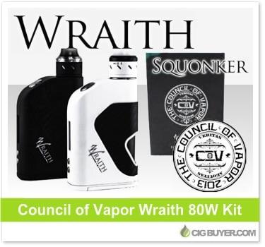 Council of Vapor Wraith Mod Squonker Kit