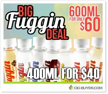Big Fuggin E-Juice Deal