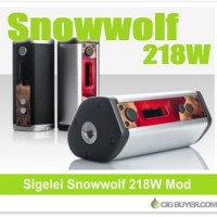 Sigelei SnowWolf 218W Box Mod – $94.05