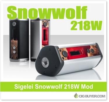 Sigelei SnowWolf 218W Box Mod